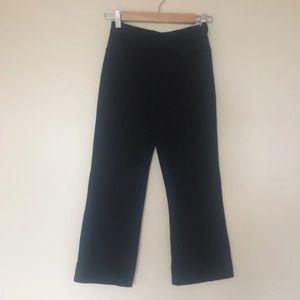 Lululemon Athletica black cropped pants leggings 4